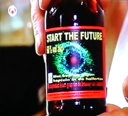 """Start the Future"" beer"